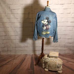 Disney Store Mickey Mouse Denim Jacket